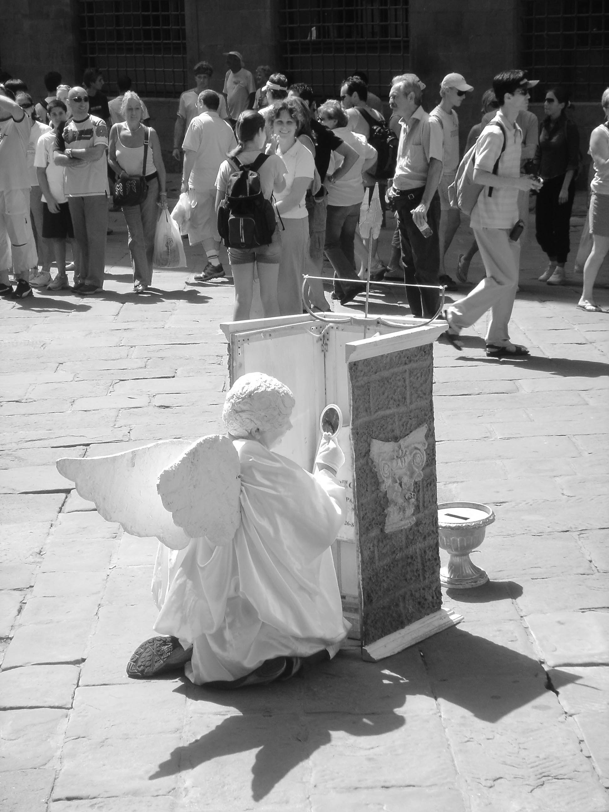 PHOTOGRAPHIER FLORENCE, L'ANGE ET SON MAQUILLAGE