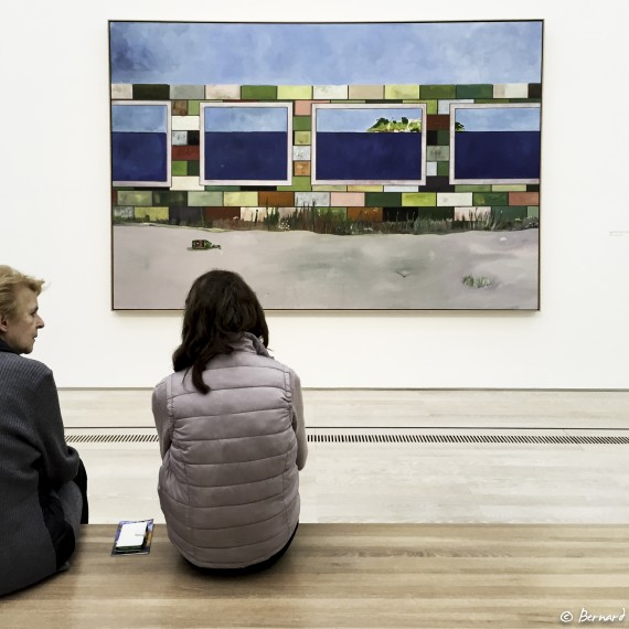 """BEYELER-LOOKING AT..."""