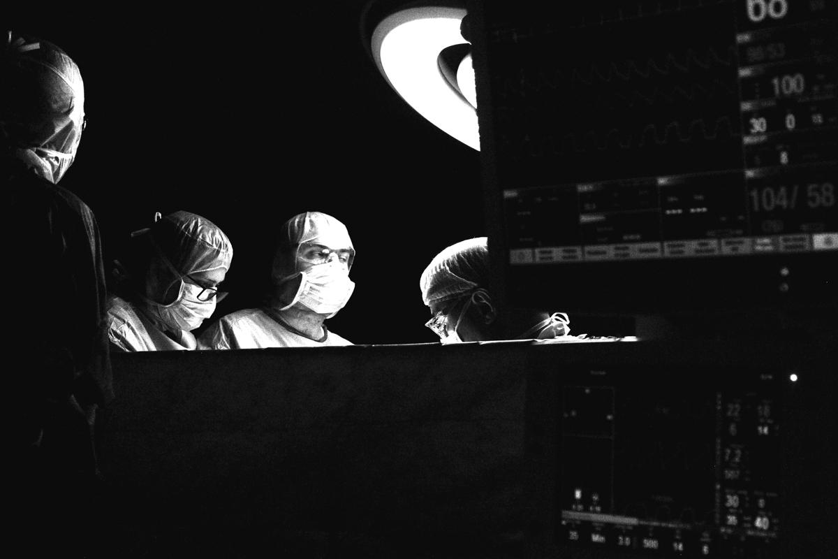 résection d'une tumeur de pancréas par le Pr.P.Bachellier aux hôpitaux de Strasbourg