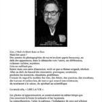 """présentation de l'exposition """"lire la vie"""" à la librairie Kléber octobre 2014"""